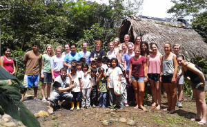 volunteer community project coast ecuador